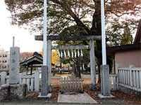 浮島神社鳥居