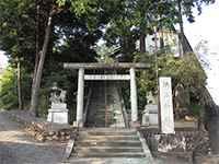 勝沼神社鳥居