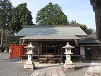 勝沼神社社殿