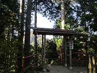 武蔵御嶽神社奥宮遥拝所