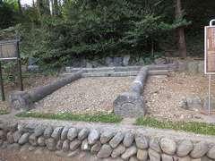 成木熊野神社旧鳥居