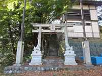 沢井八雲神社鳥居