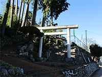 和田稲荷神社鳥居
