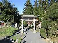 木下八幡神社鳥居