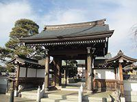 龍田寺山門