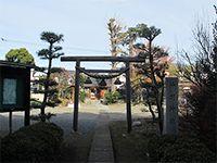 拝島神明神社鳥居