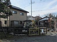 拝島神明神社石臼塚