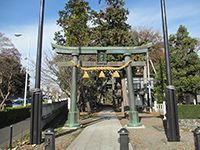 宮沢諏訪神社鳥居