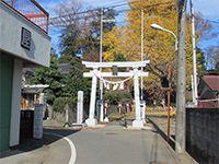 中神熊野神社鳥居