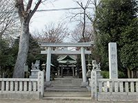 立川熊野神社鳥居