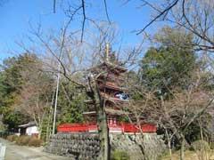 福正寺五重塔