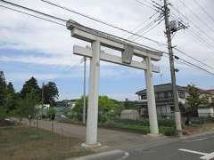 愛宕神社(長岡長谷部)鳥居