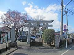 御嶽神社(石畑)鳥居