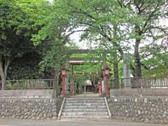 元狭山神社鳥居