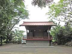 元狭山神社神楽殿