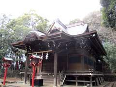 狭山神社社殿
