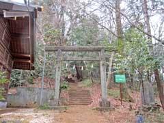 浅間神社(箱根ヶ崎)鳥居