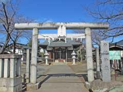 神明神社(石畑)鳥居