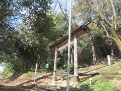 須賀神社(殿ヶ谷)鳥居