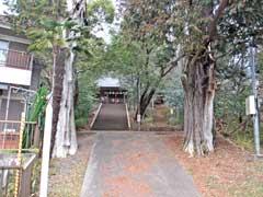 八雲神社(箱根ヶ崎)鳥居
