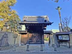 重林寺山門