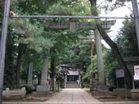 長崎神社鳥居