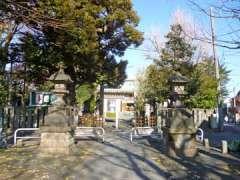 池袋氷川神社二鳥居