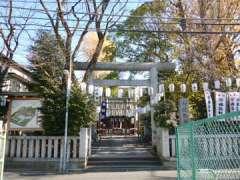 池袋御嶽神社鳥居