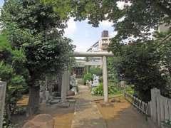 粟島神社鳥居