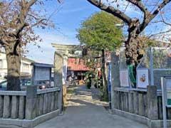 染井稲荷神社鳥居