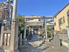豊坂稲荷神社鳥居