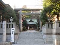大塚天祖神社鳥居