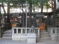 稲荷神社と、榛名神社、三峰神社
