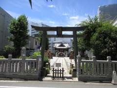 高田氷川神社鳥居