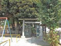 富士浅間神社鳥居
