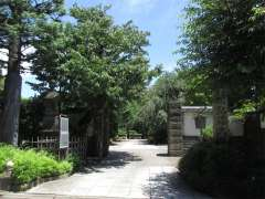 南蔵院山門