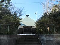 保木薬師堂入口