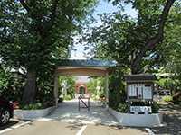 祥泉院山門