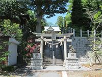千草台杉山神社鳥居