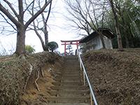 荏田町熊野神社鳥居