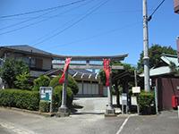 市ケ尾杉山神社鳥居