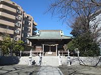 驚神社拝殿