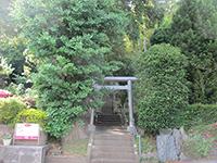 恩田町子之辺神社鳥居