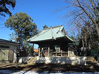 平川神社社殿