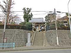 福生寺山門