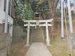 新井稲荷神社鳥居