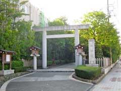 神戸神明社鳥居