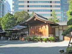 神戸神明社神楽殿