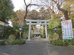 星川杉山神社鳥居