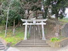 川島杉山神社鳥居
